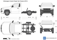 Volkswagen Amarok Single Cab Chassis