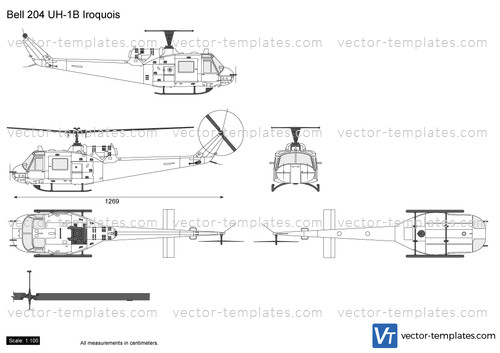 Bell 204 UH-1B Iroquois