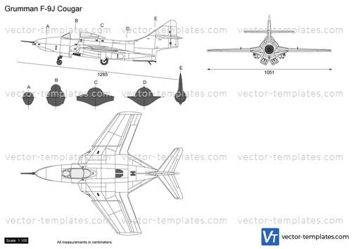 Grumman F-9J Cougar