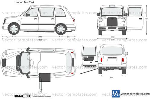 London Taxi TX4