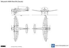 Mitsubishi A5M4 Mod 96 (Claude)