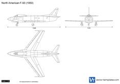 North American F-93