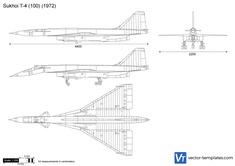 Sukhoi T-4 (100)