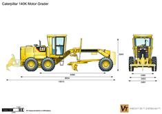 Caterpillar 140K Motor Grader