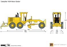 Caterpillar 163H Motor Grader