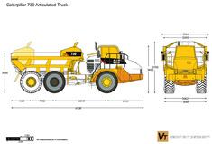 Caterpillar 730 Articulated Truck