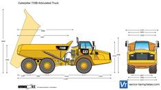 Caterpillar 735B Articulated Truck