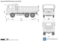 Hyundai HD370S Dump Truck