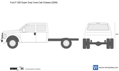 Ford F-350 Super Duty Crew Cab Chassis