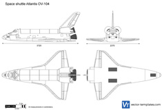 Space shuttle Atlantis OV-104