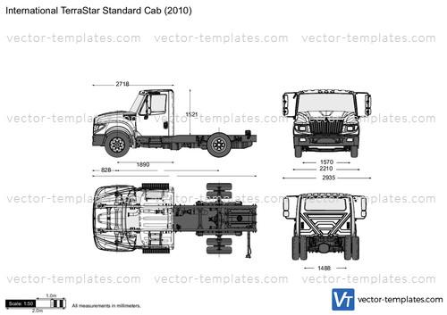 International TerraStar Standard Cab