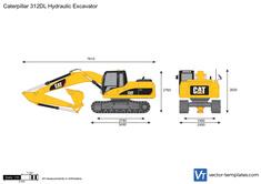 Caterpillar 312DL Hydraulic Excavator
