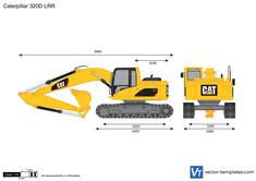 Caterpillar 320D LRR Hydraulic Excavator