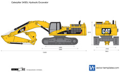 Caterpillar 345DL Hydraulic Excavator