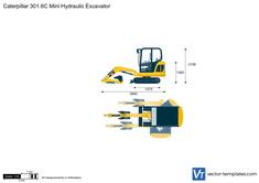 Caterpillar 301.6C Mini Hydraulic Excavator