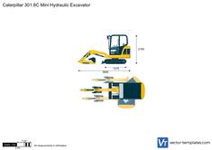 Caterpillar 301.8C Mini Hydraulic Excavator