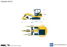 Caterpillar 302.5C Mini Hydraulic Excavator