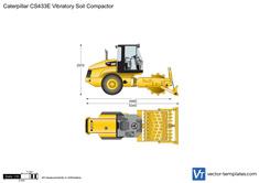 Caterpillar CS433E Vibratory Soil Compactor