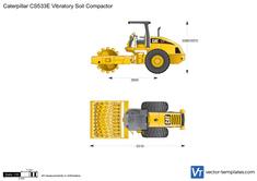 Caterpillar CS533E Vibratory Soil Compactor