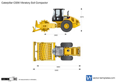 Caterpillar CS56 Vibratory Soil Compactor