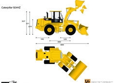 Caterpillar 924HZ Wheel Loader