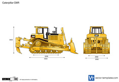 Caterpillar D8R Track-Type Tractor
