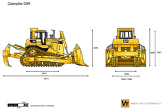 Caterpillar D9R Track-Type Tractor