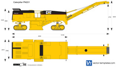 Caterpillar PM201 Cold Planer