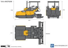 Volvo ABG7820B Paver