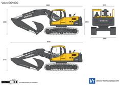 Volvo EC160C Crawler Excavator