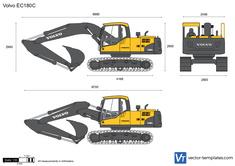 Volvo EC180C Crawler Excavator