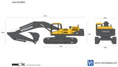 Volvo EC460C Crawler Excavator