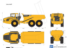 Volvo A40F Articulated Hauler