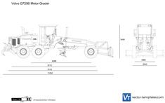 Volvo G720B Motor Grader