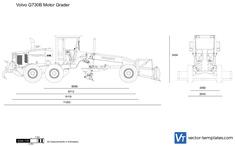 Volvo G730B Motor Grader