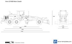 Volvo G740B Motor Grader