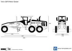 Volvo G970 Motor Grader