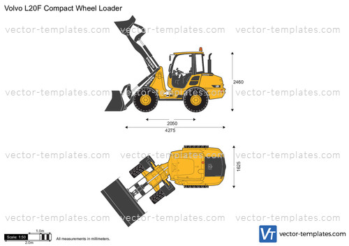 Volvo L20F Compact Wheel Loader