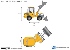 Volvo L35B Pro Compact Wheel Loader