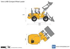 Volvo L40B Compact Wheel Loader