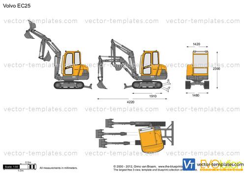 Volvo EC25 Crawler Excavator