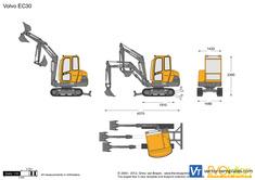Volvo EC30 Crawler Excavator