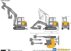 Volvo EC55C Crawler Excavator