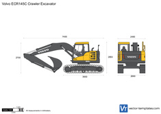 Volvo ECR145C Crawler Excavator