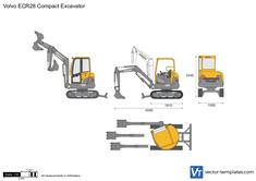 Volvo ECR28 Compact Excavator