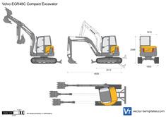 Volvo ECR48C Compact Excavator