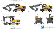 Volvo EW230C Wheeled Excavator
