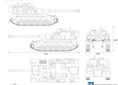 AS90 155mm SPG
