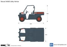 Bobcat 3400D Utility Vehicle