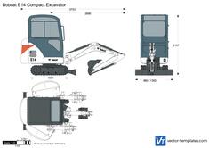 Bobcat E14 Compact Excavator